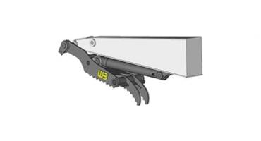 Werk-Brau Mini-Excavator Thumb